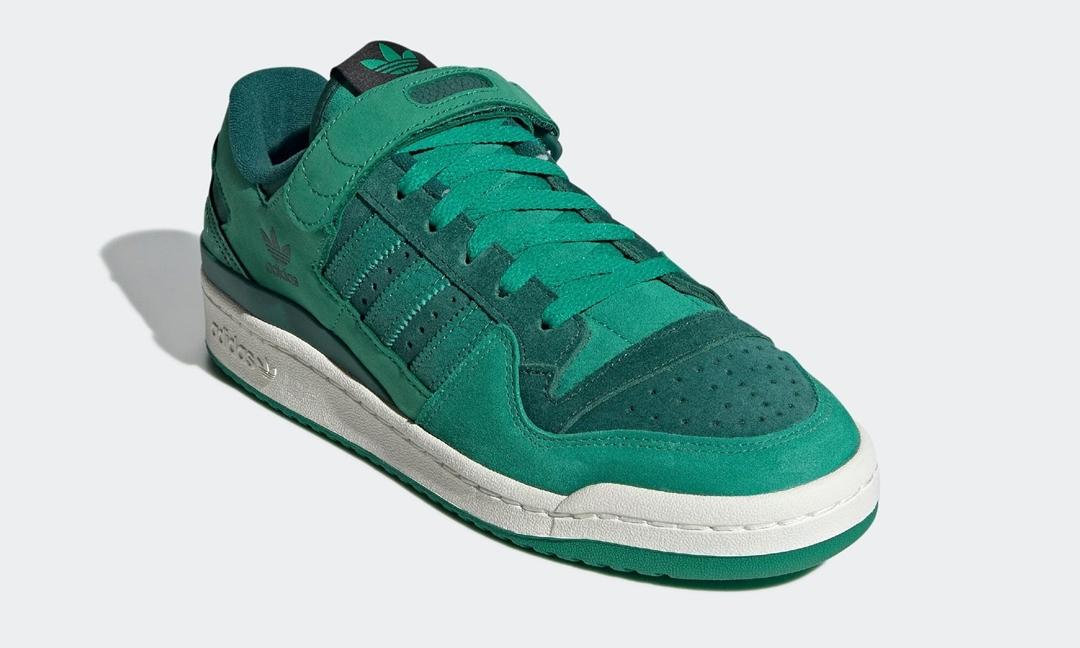 """【10/15 発売】adidas Originals FORUM 84 LOW """"Green"""" (アディダス オリジナルス フォーラム 84 ロー """"グリーン"""") [GY8996]"""